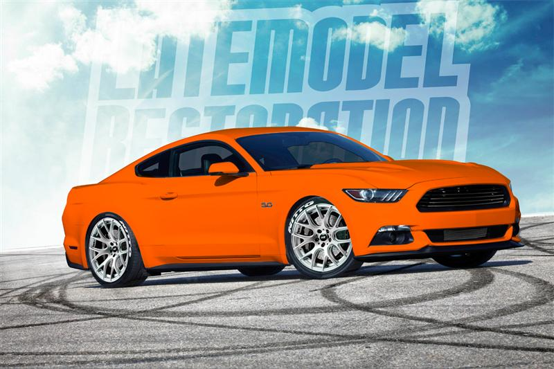 Rendering Our Competition Orange 2015 Mustang GT! - 2015 Mustang GT Comp Orange Rendering