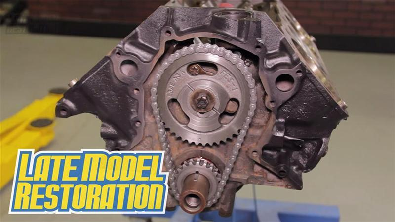 How To Install 302 351 Mustang Camshaft And Timing Chain